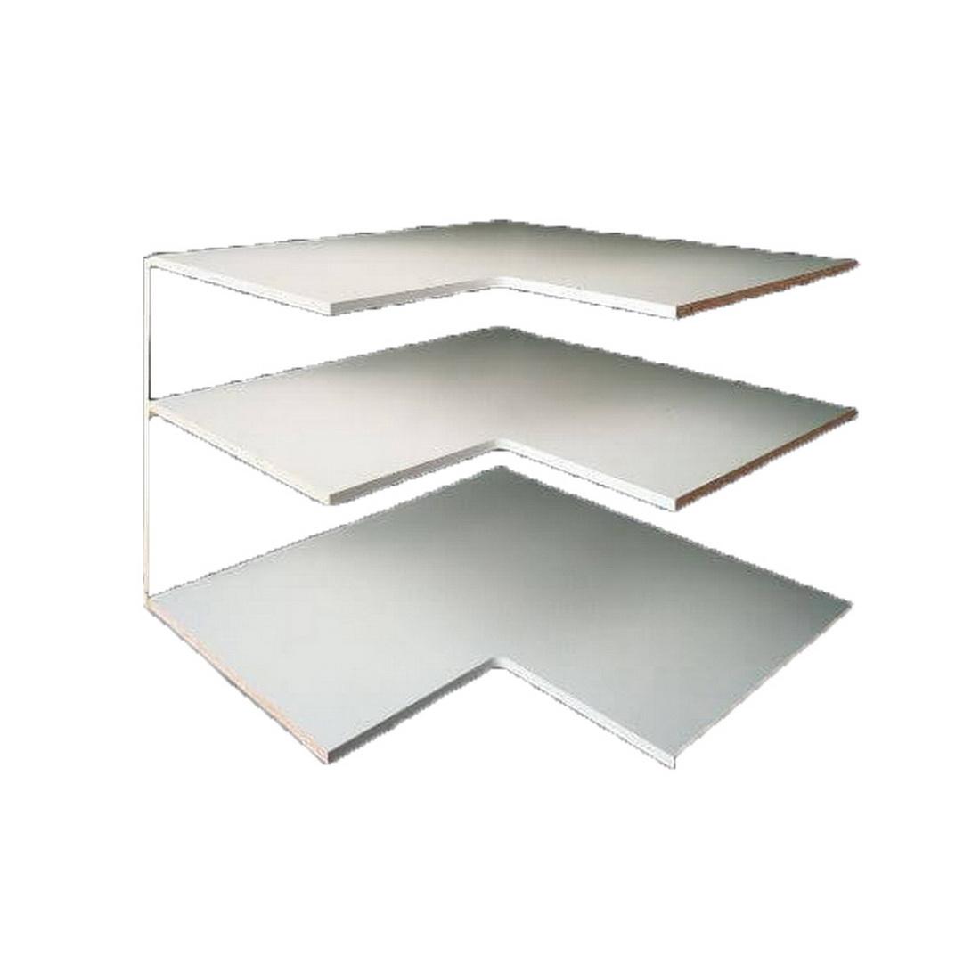 Laminex Whiteboard MDF Panel 2440 x 1220 x 18 mm Satin 872712