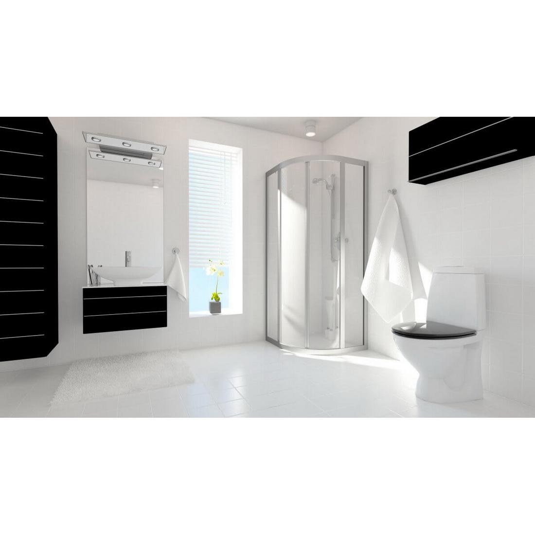 Showerline 2400 x 900 x 4.75mm Acp Wet Wall Lining White