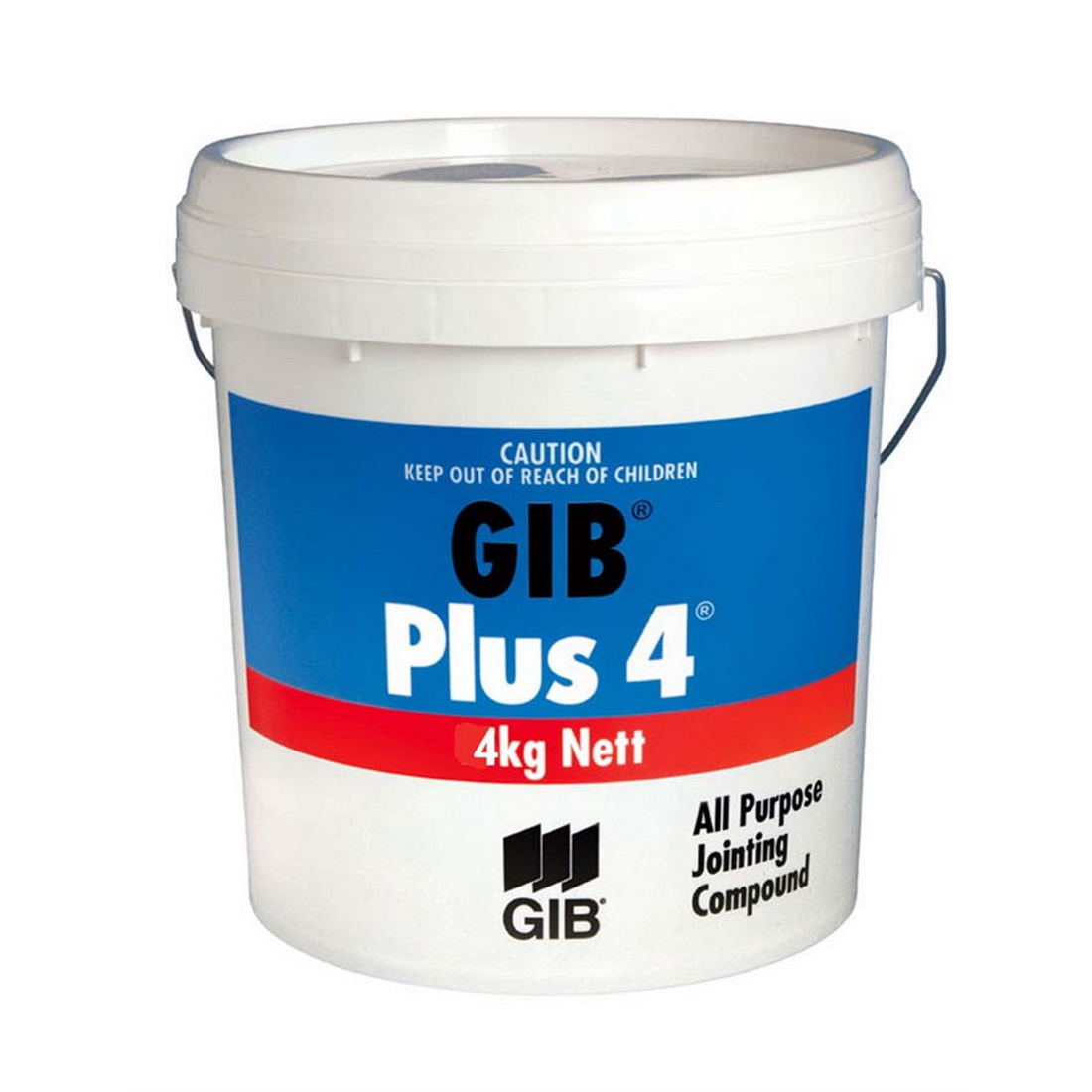 Plus 4 Air Drying Ready Mix Jointing Compound 4kg Pail