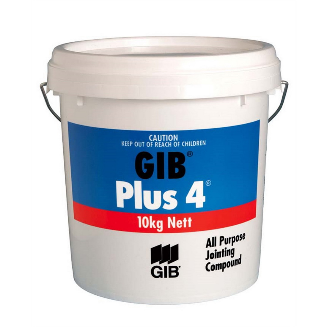 Plus 4 Air Drying Ready Mix Jointing Compound 10kg Pail