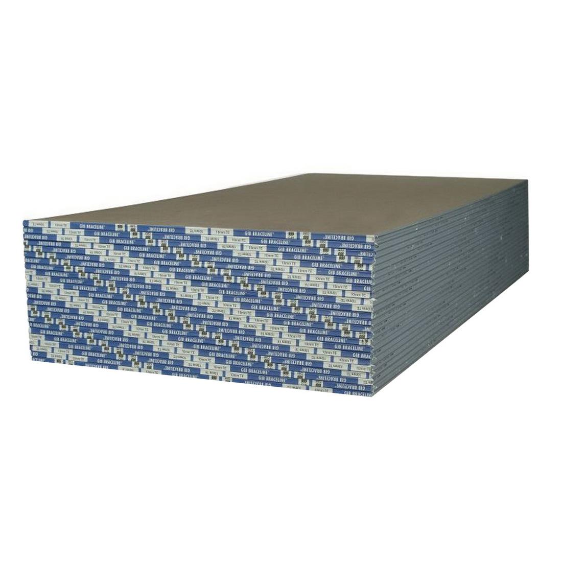 Braceline Noiseline Plasterboard 2400 x 1200 x 13mm 15060