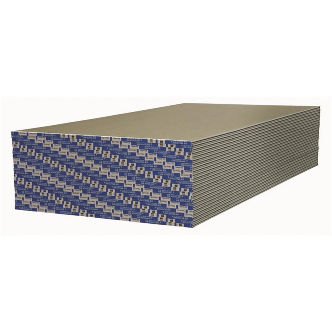 Braceline Noiseline Plasterboard 2400 x 1200 x 10mm 15054