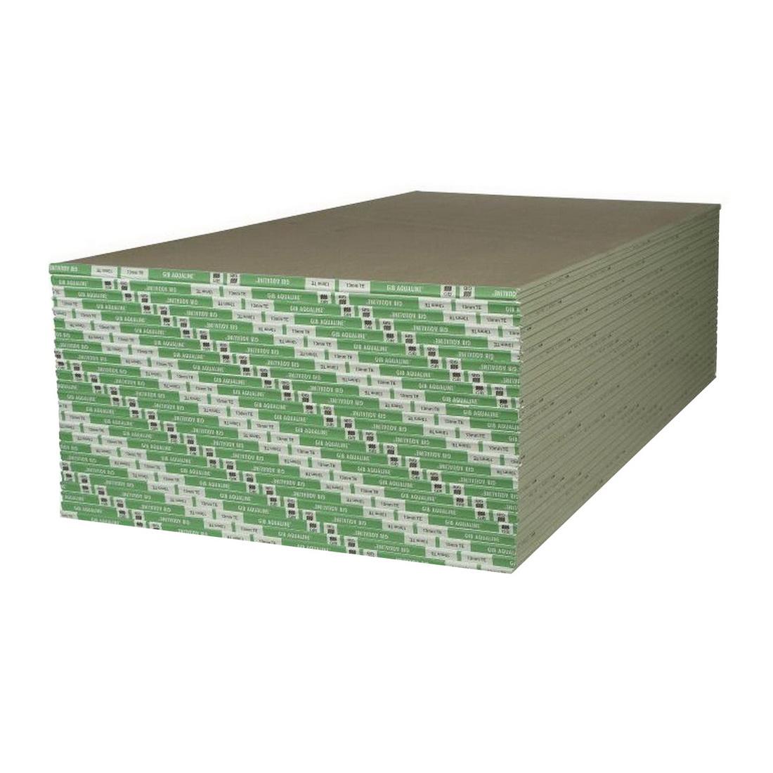Aqualine Taper/Square Edge Plasterboard 4800 x 1200 x 10mm 15033
