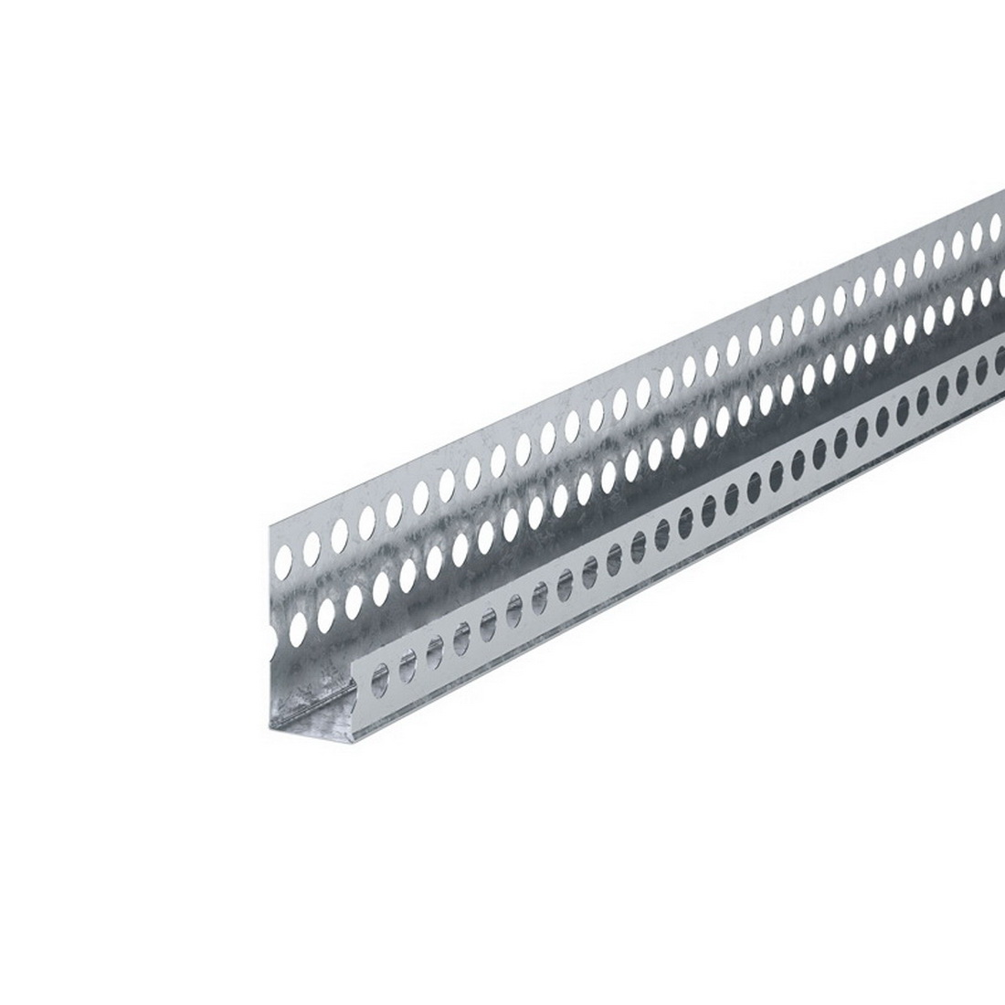 Rondo Stopping Plaster Casing Bead 10mm x 2400mm Galvanized Steel For P12