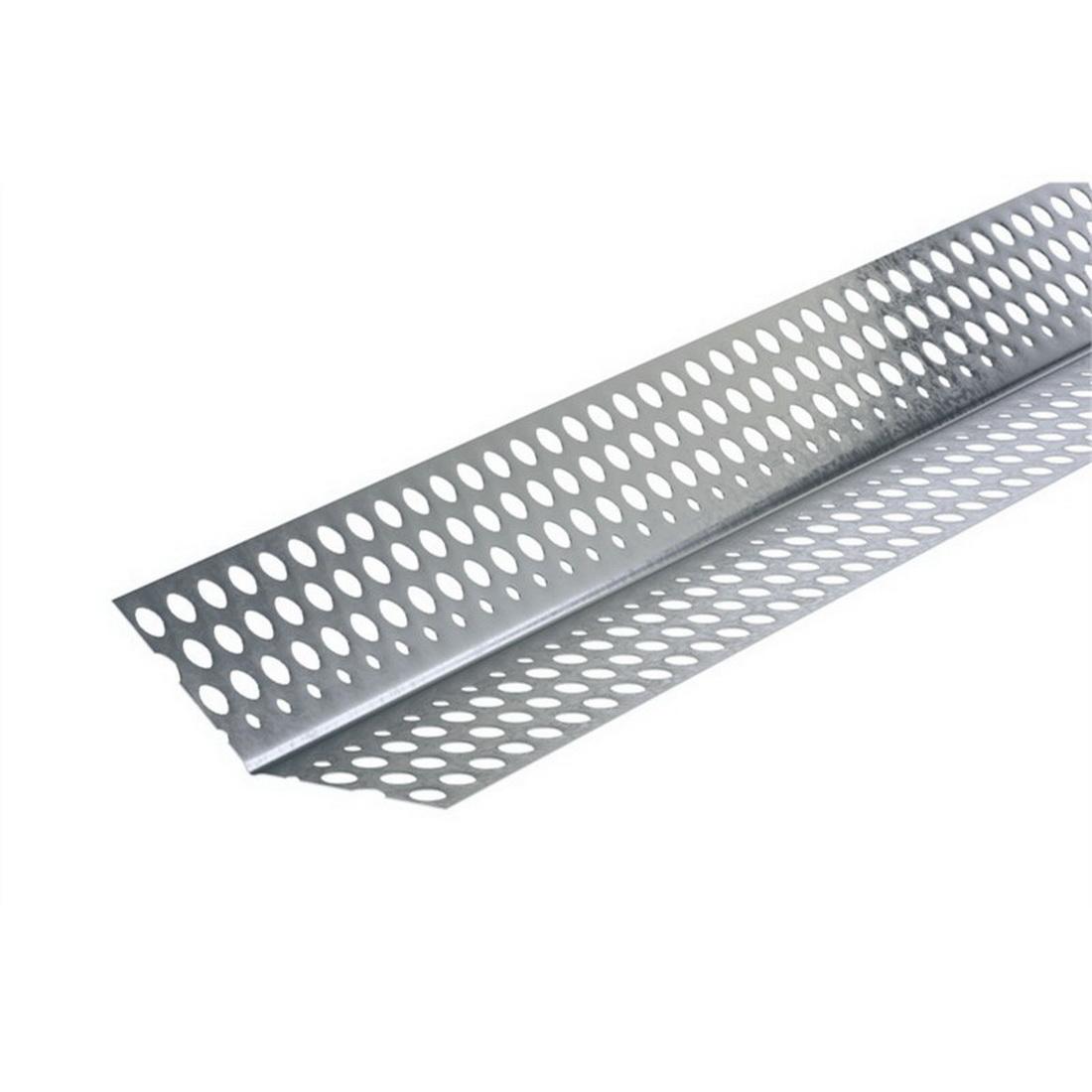Rondo P01A External Corner Slim Anglemoulding 3000mm Galvanized Steel 135 deg