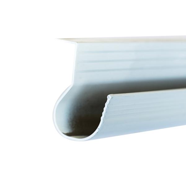 3.6m Closet Rail Aluminium Powder Coated White