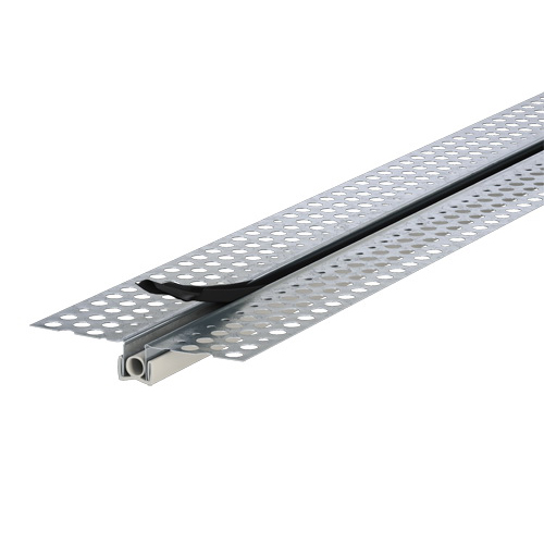 Trim P35 Control Joint 3000mm x 70mm x 10mm Galvanized Steel White