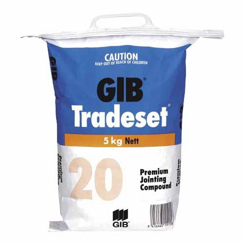 Tradeset 20 Setting Jointing Compound 5kg Bag