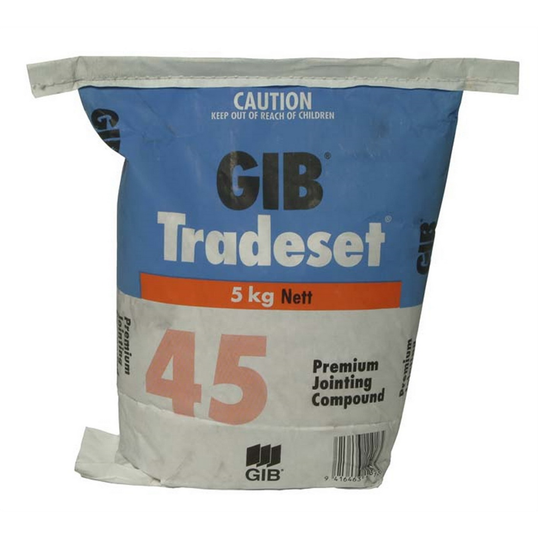 Tradeset 45 Setting Jointing Compound 5 kg Bag 11916