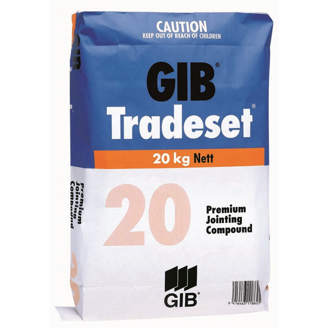 Tradeset 20 Setting Jointing Compound 20kg Bag