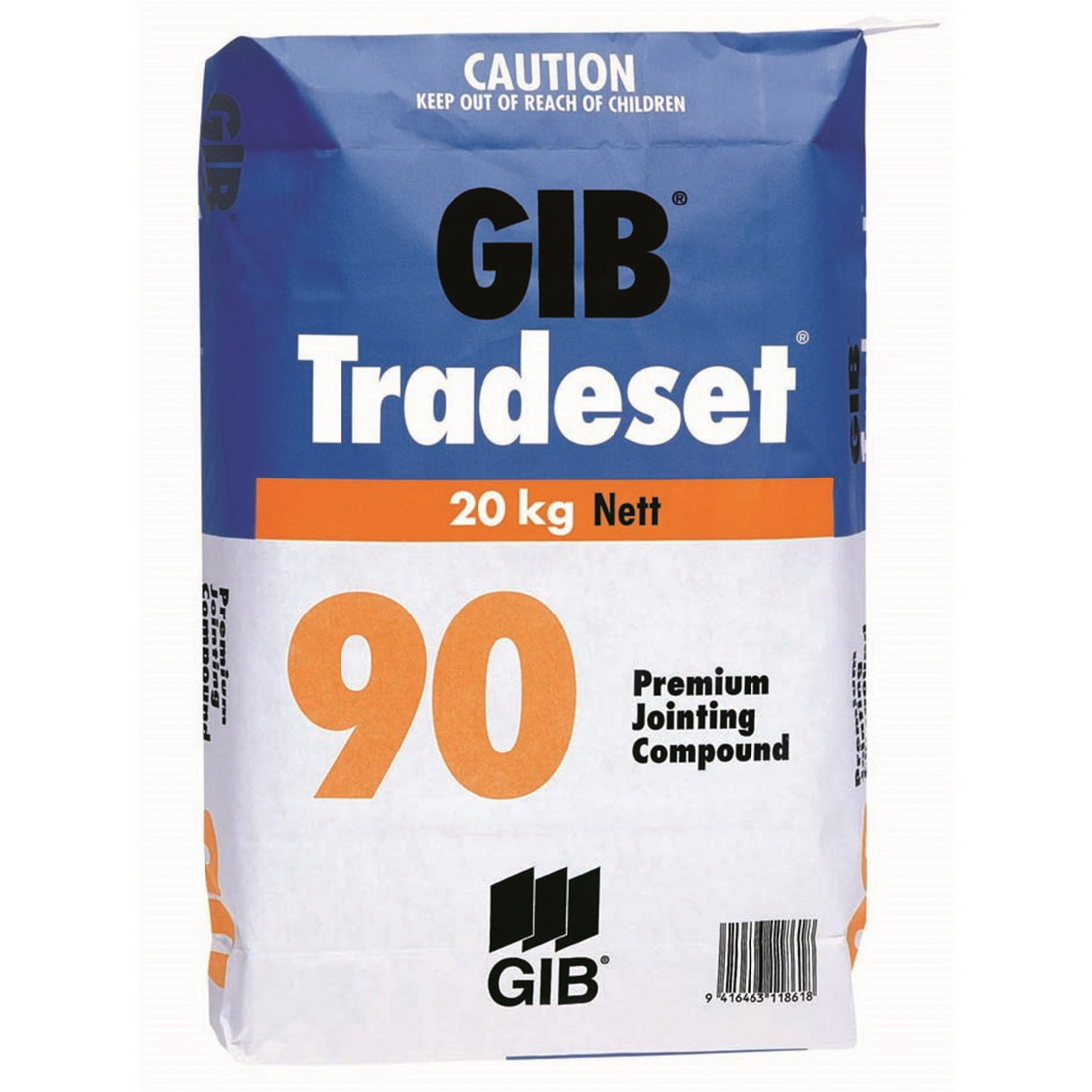 Tradeset 90 Setting Jointing Compound 20kg Bag