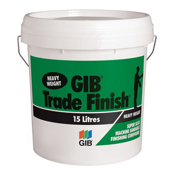 Trade Finish Heavy Weight Air Drying Compound 15 L Pail 15126