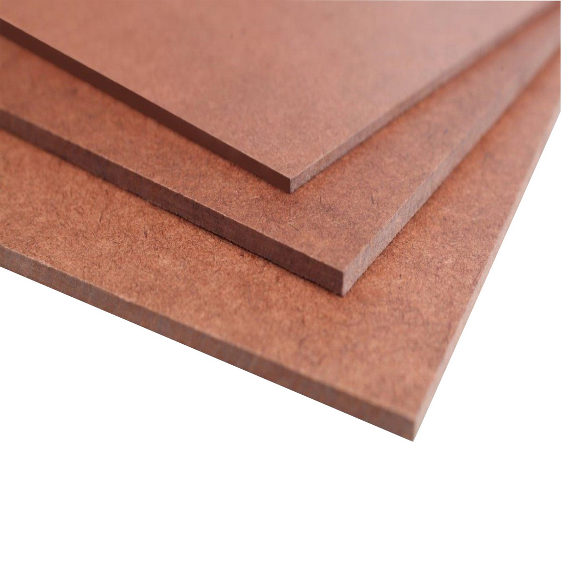 2440x1220x3.2mm Standard Smooth Face 1 Side Wood Fibre Building Board
