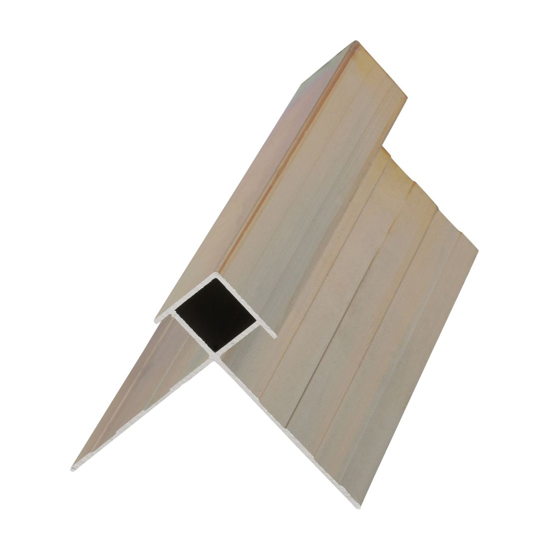 Stria Aluminium External Box Corner With Wings 3000mm