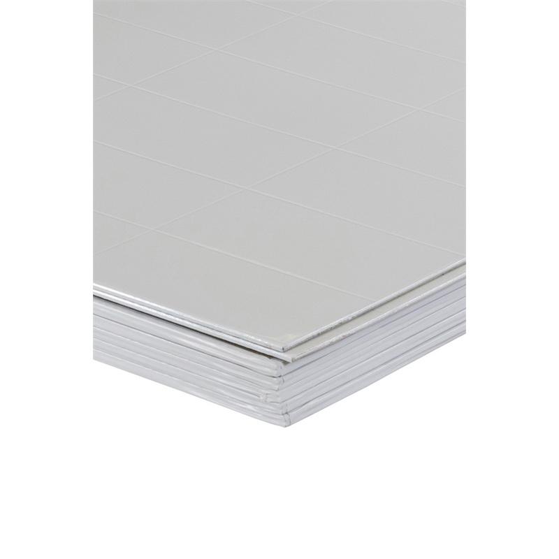 HardieGlaze Listello 2400 x 1200 x 6mm Tile Lining White