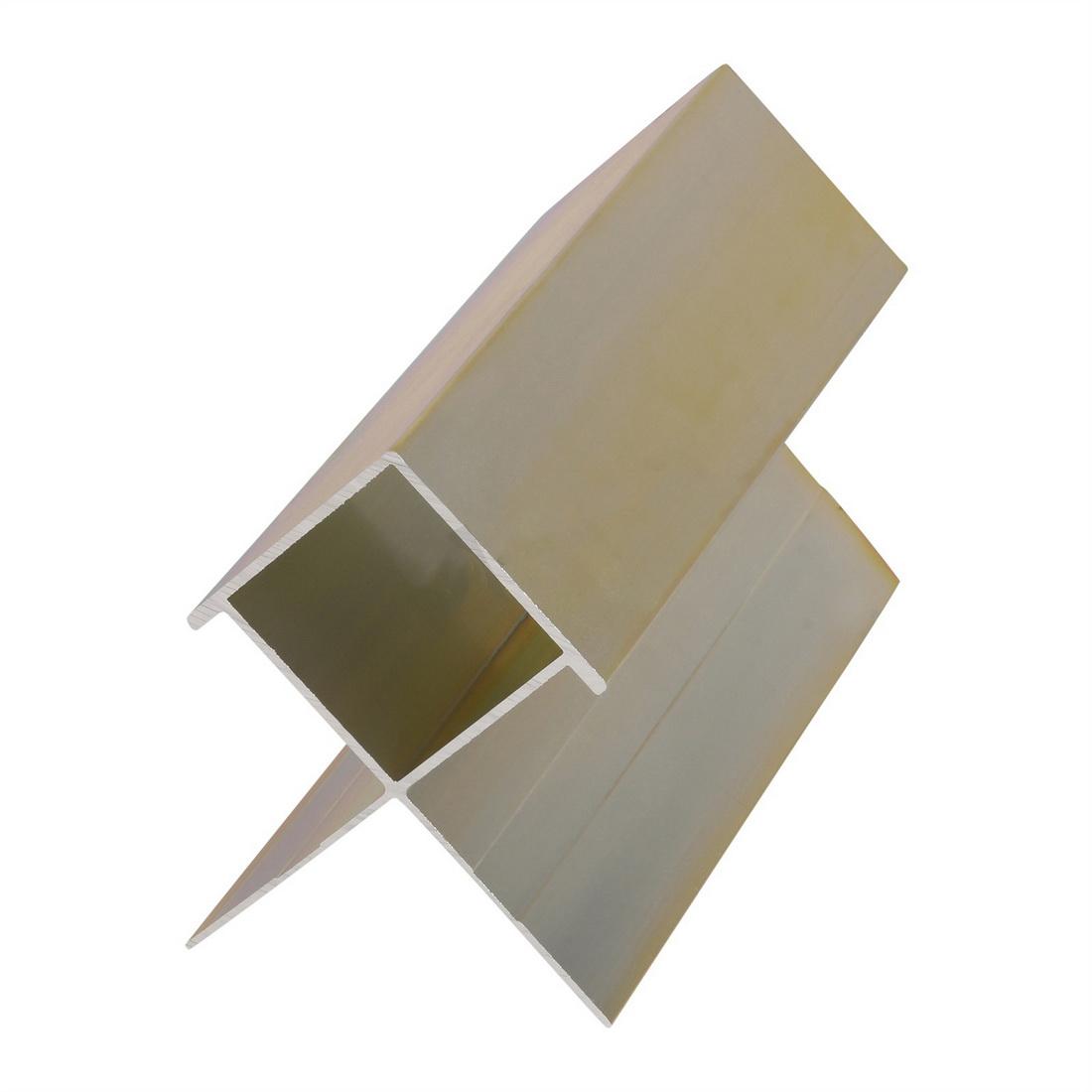 Linea Oblique Weatherboard Aluminium External Box Corner 2700mm