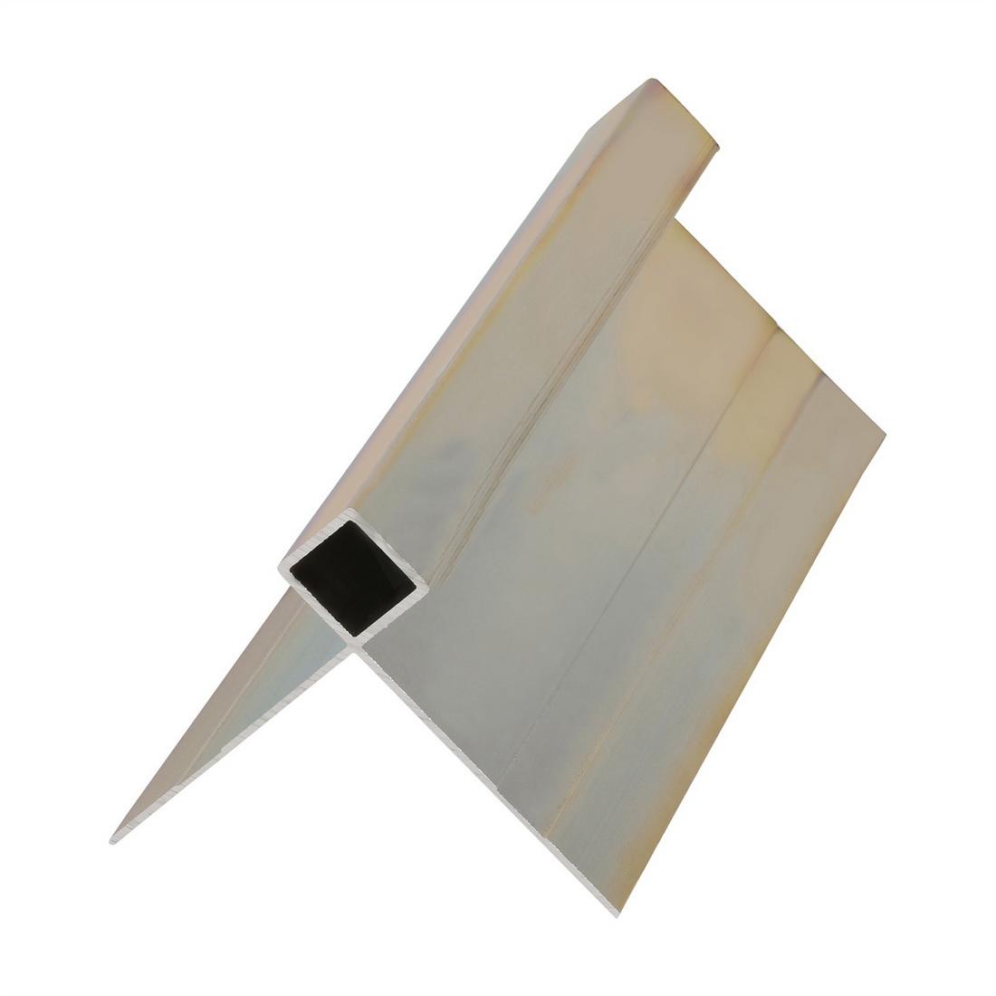 Linea Oblique Weatherboard Aluminium External Box Corner 4000mm