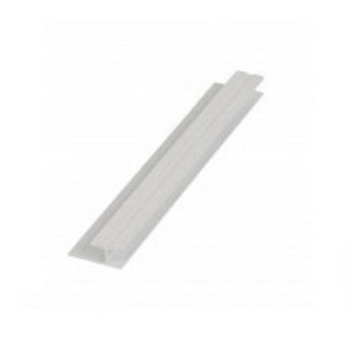 HardieGlaze 6mm Jointer Aluminium 2700mm Powder Coated White