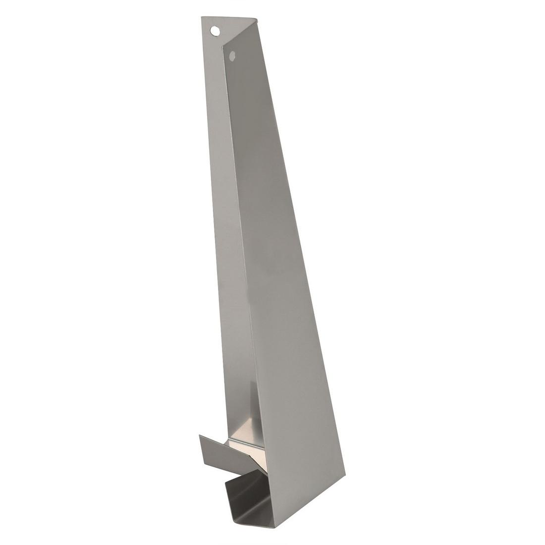 Linea Weatherboard 180mm Stainless Steel External Corner Soaker 90 Degree