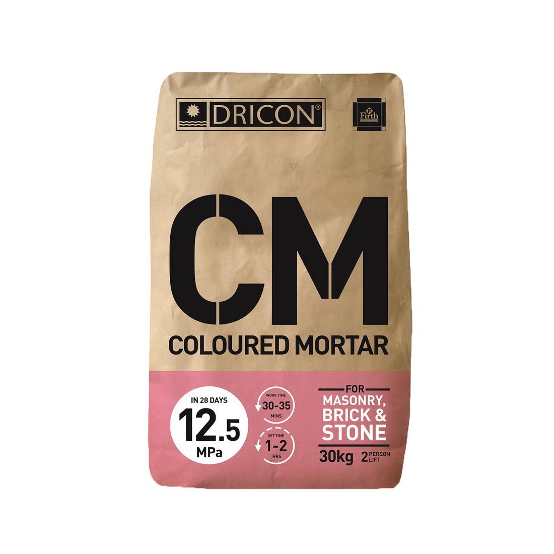 Coloured Mortar Antique Cream 30kg