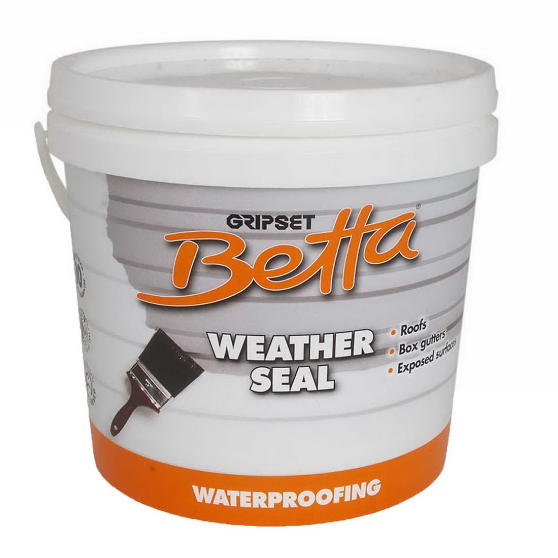 Gripset Betta Weather Seal Membrane 4L White GA-BETMB009