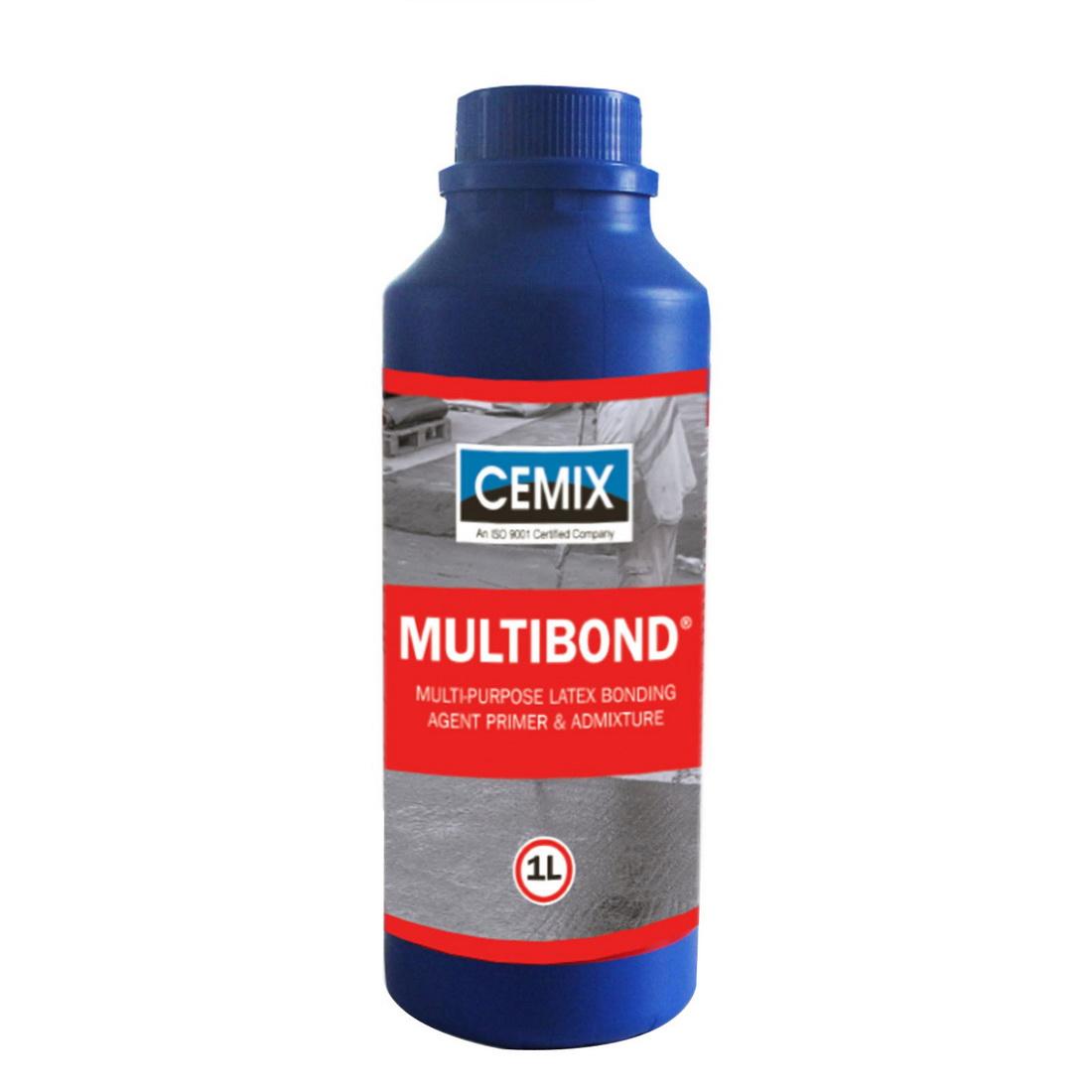 Multibond 1L Bottle Latex Bonding Agent Milky White Liquid