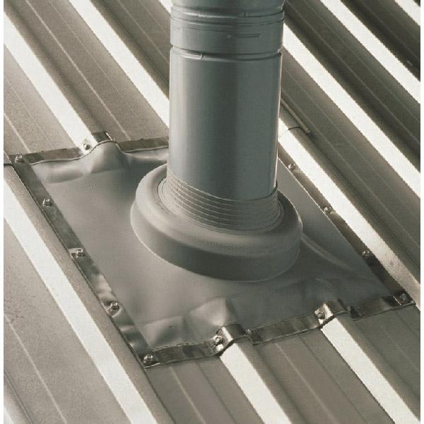 Dektite Flashing Soaker 250-410mm EPDM Grey