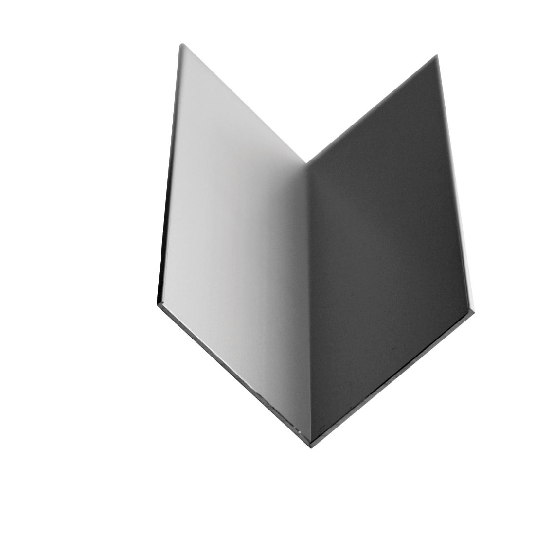 Internal 90 Angle Aluminium Flashing 3.0m