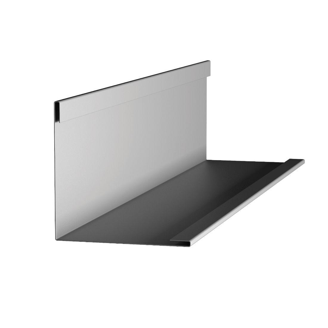 Shadowclad Internal 90 Angle Stainless Steel Flashing 3.0m