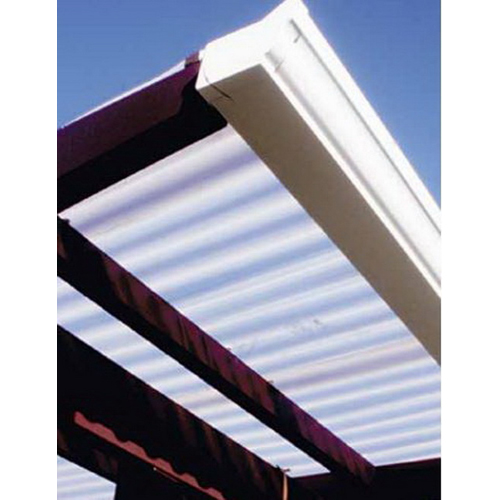 Suncorr Opaque Corrugated Roofing 2400 x 690 x 0.8mm PVC Light Blue SUN-CORR-LTB-2400