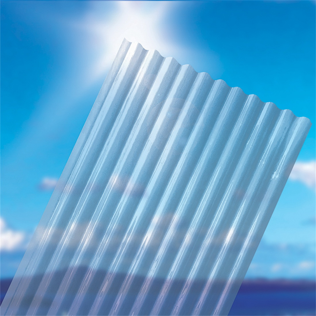 Corrugated Clear 2400 x 860mm