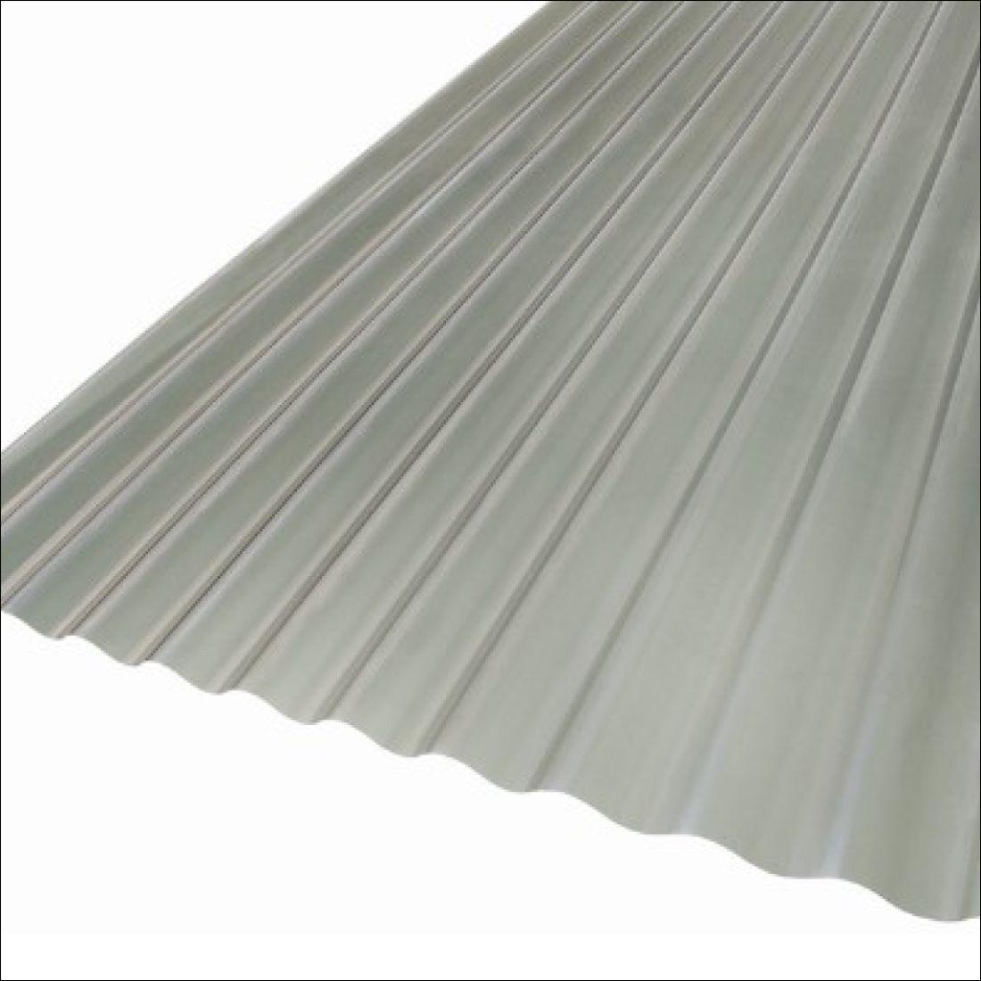 Corrugated  Solar Grey 2100 x 860mm