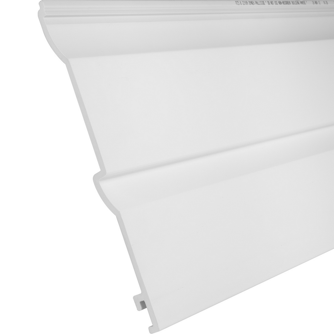 Palliside Traditional Weather Board 6.3 m x 260 mm Unplasticised PVC White FCTRAD6.3