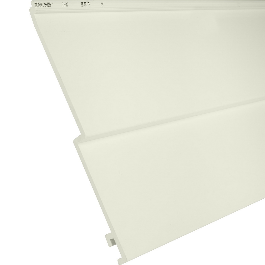 Palliside Traditional Weather Board 6.3 m x 260 mm Unplasticised PVC Calico FCTRADCAL6.3