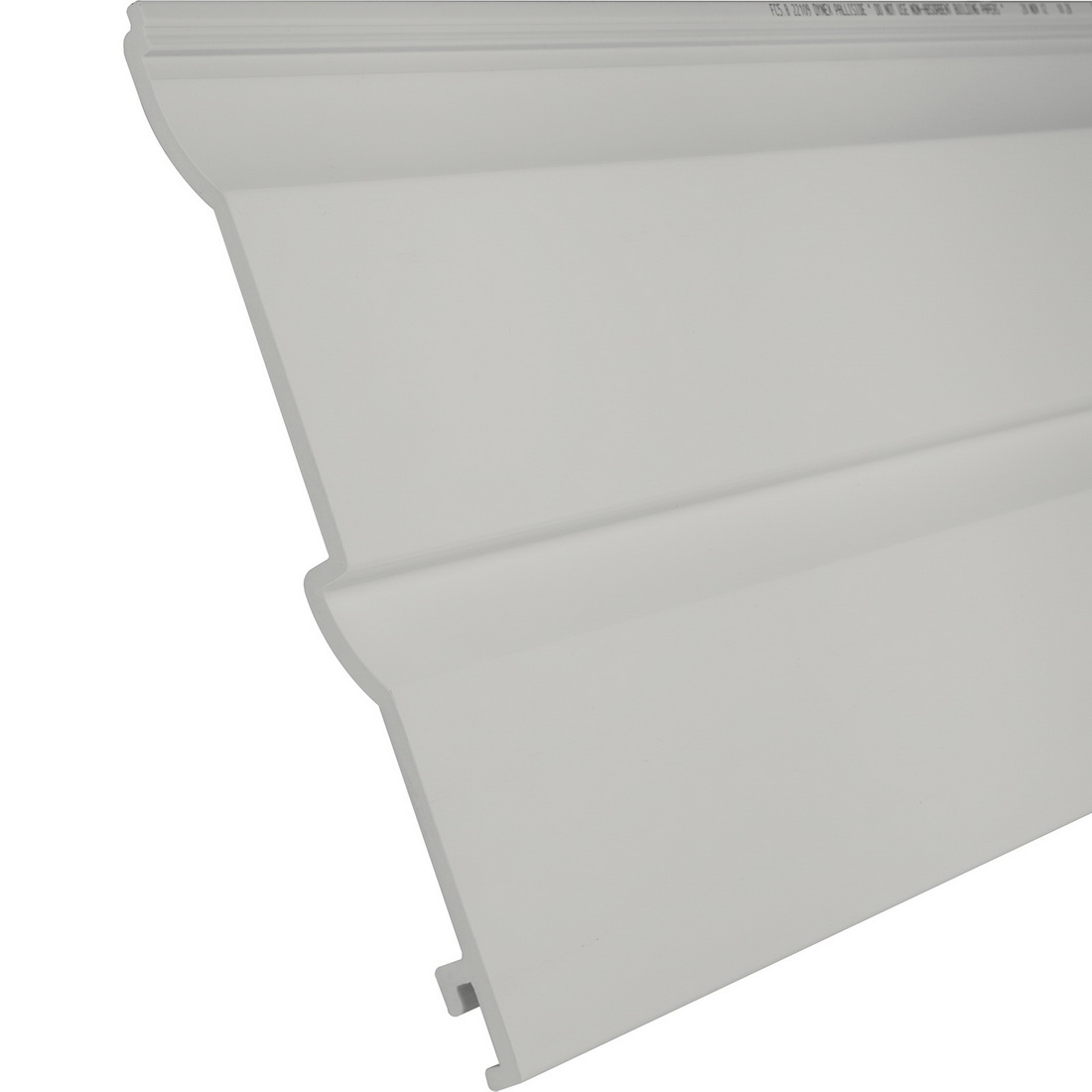 Palliside Traditional Weather Board 6.3 m x 260 mm Unplasticised PVC Riverstone FCTRADRST6.3