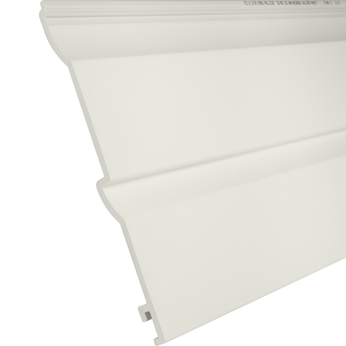 Palliside Traditional Weather Board 6.3 m x 260 mm Unplasticised PVC Tea FCTRADTEA6.3