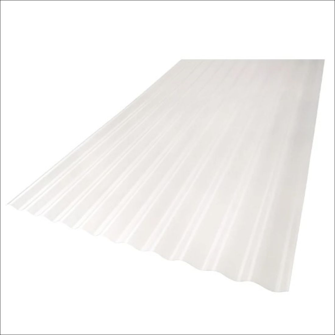 Tufclad Ultra Polycarbonate Clear Corrugated 4800 x 860mm