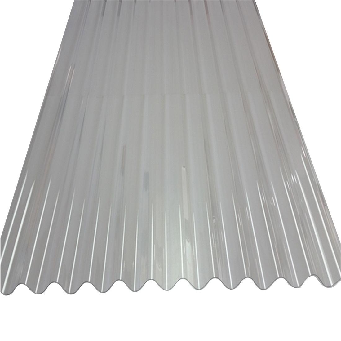 Sunlite Corrugated Roofing 1800 x 660 x 0.8mm PVC Clear SUN-CORR-CLR-1800
