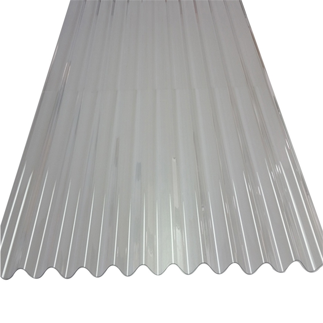 Sunlite Corrugated Roofing 2400 x 660 x 0.8mm PVC Clear SUN-CORR-CLR-2400