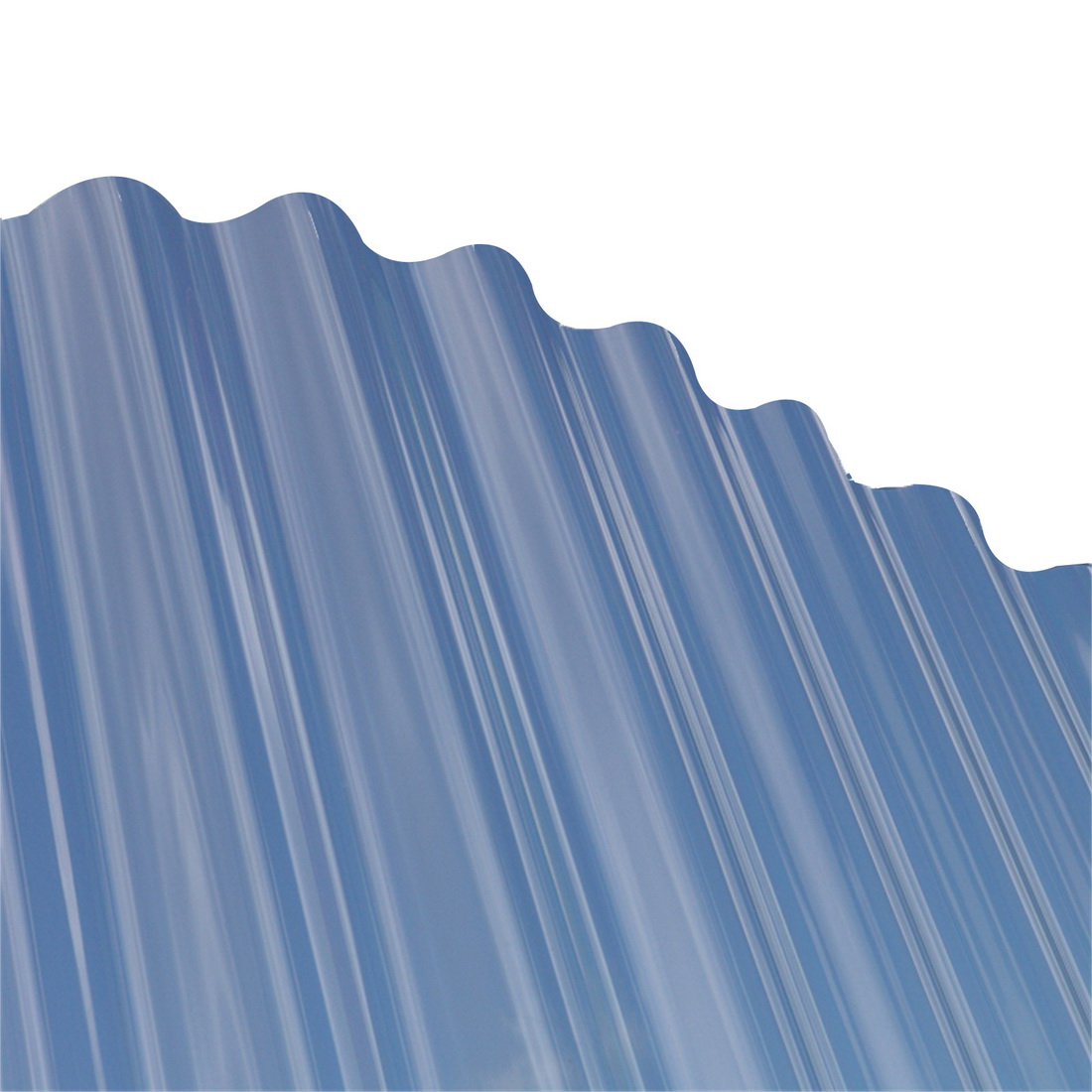 Tufclad Ultra Corrugated Roofing 2400 x 860 x 0.8mm Polycarbonate Clear TFU-CORR-CLR-2400