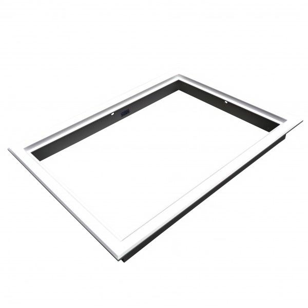 600x600mm Heavy Duty Manhole Frame White