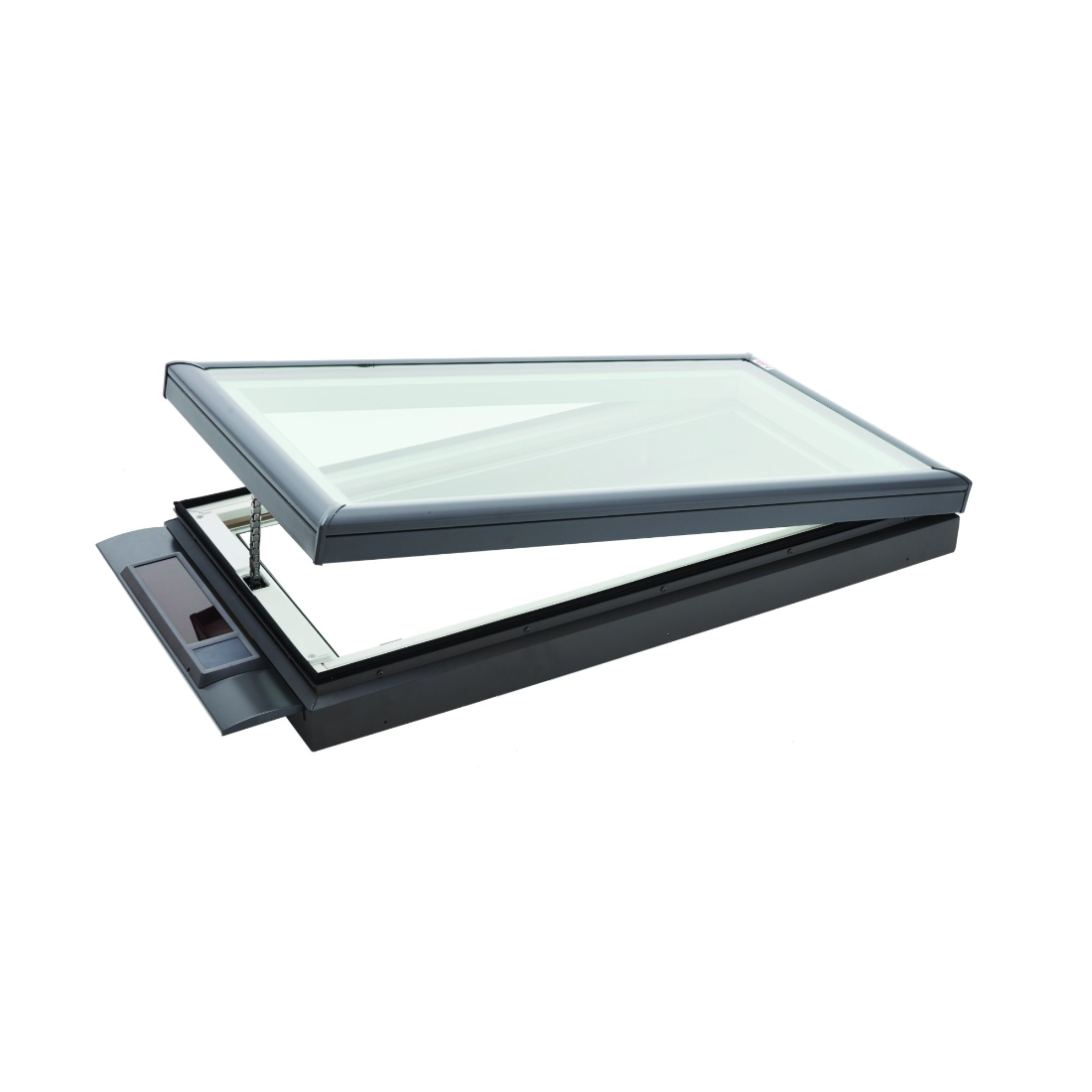 Low Pitch Solar Opening Skylight 1302 x 1302mm