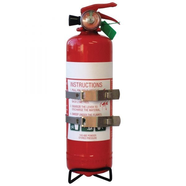 1kg ABE Dry Powder Auto/Recreational  Fire Extinguisher
