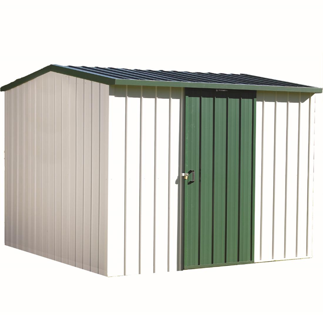 Kiwi Colour Kitset Garden Shed 2.545 x 2.545 x 2.11m