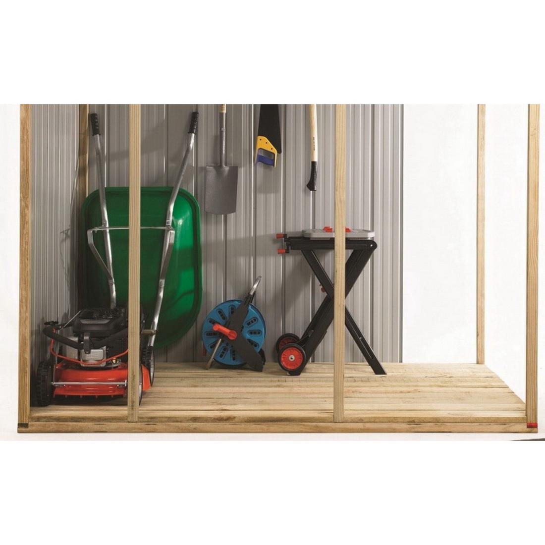 Kiwi Garden Shed Timber Floor Zinc