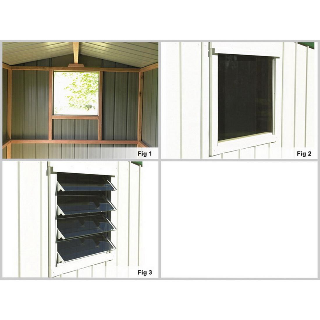 Kiwi Zinc Fixed Window