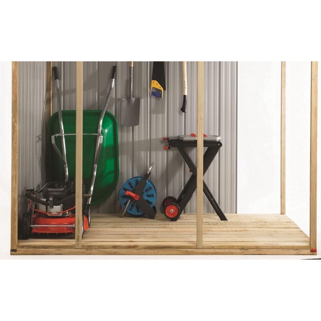Fortress Clear Garden Shed Timber Floor