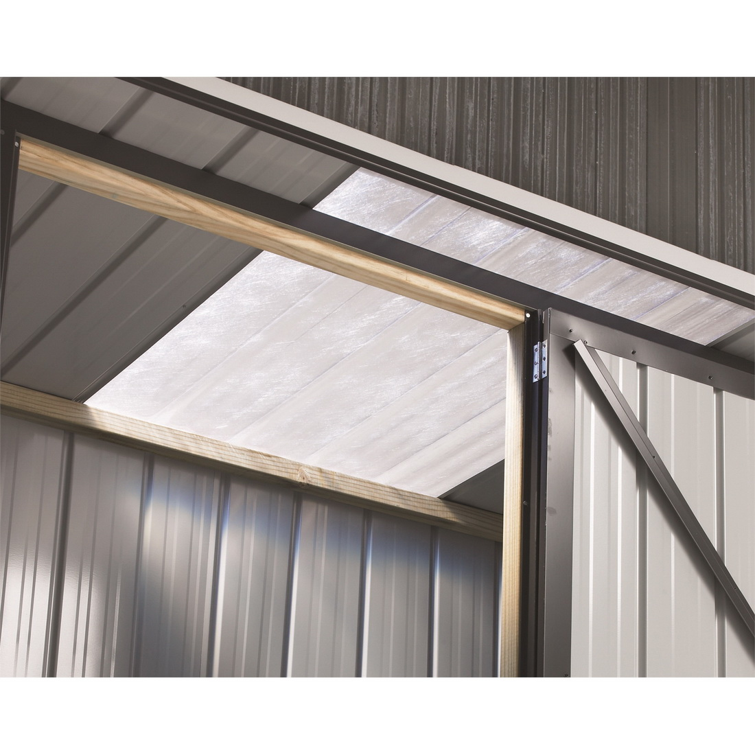 Fortress Garden Shed TUF Locker Clear Roof Panel