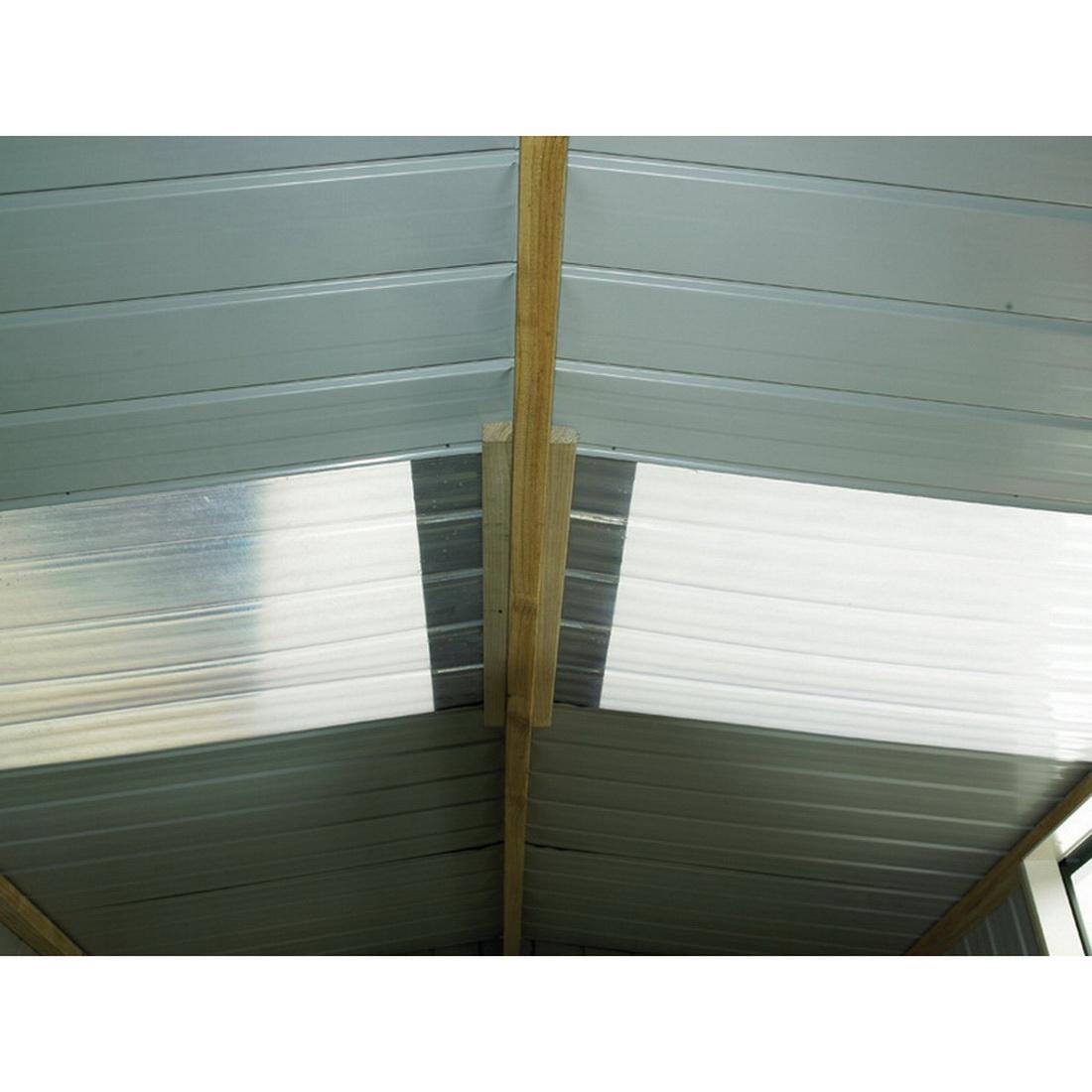 Kiwi Double Side Type A Clear Roof Panel Zinc KCRPAB