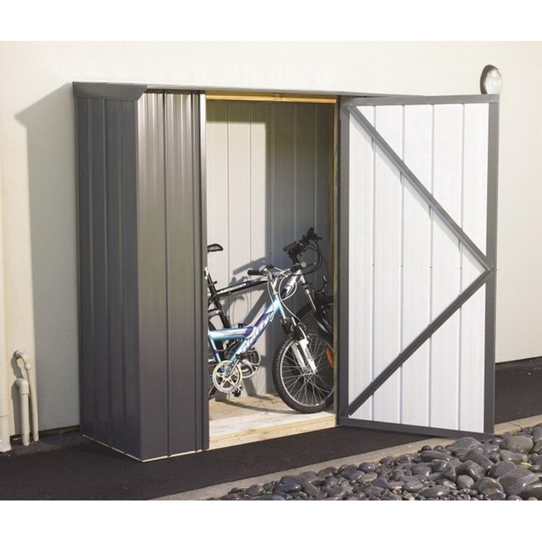 Fortress Colour Kitset Garden Shed Locker 1.81 x 0.685 x 1.975m